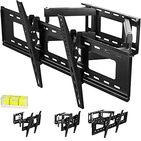 MOUNTY® - Support TV mural MY153 orientable et inclinable - 100 kg max Supports Muraux TV - écran 37