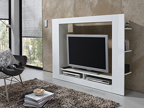 Wohnwand Anbauwand Schrankwand Wohnzimmer Schrank Weiss Gebraucht Kaufen Wird An Jeden Ort In Deutschland