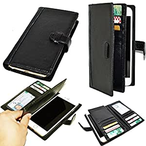 Artech 21 WalletPro New Yoke Series -- Italian Full Grain Leather Handmade Wallet Case for Apple iPhone 6 (4.7 inches,not for Plus) -- Premium Real Leather , Retro Book Stlye , Wallet Case with ID Slots ,Italian Design and St
