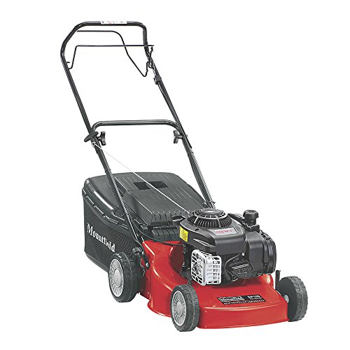 MOUNTFIELD HP185 45CM 125CC HAND-PROPELLED ROTARY PETROL LAWN MOWER. Easy To Use and Easy To Start Engine