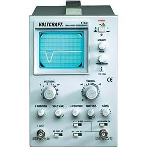 VOLTCRAFT® 610/2Oscilloscope 1Analogique à canaux bande passante 0(DC)–10MHz