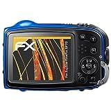atFoliX Schutzfolie für Fujifilm FinePix XP70 Displayschutzfolie - 3 x FX-Antireflex blendfreie Folie
