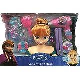 Frozen Princesa Anna Busto Peluquería con Secador