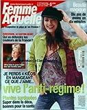 FEMME ACTUELLE [No 1120] du 13/03/2006 - BEAUTE MAGIQUE - EUROVISION - LE CASTING GEANT - PATRICIA CRONWELL - MAIGRIR - PLANTES SURDOUEES.