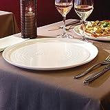 Piatti da Pizza Piatto pizza bianco Arcoroc in vetro Zenix diametro 32cm confezione da 6 pezzi