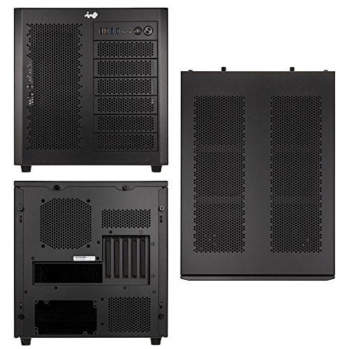 In Mini-itx-gehäuse Win (In Win Case 8.0. s. S. Cube Case Micro-ATX, Mini-ITX schwarz finestrato)