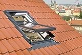 FAKRO Austauschfenster FTP-V U3 aus Holz für Alte Velux- und Roto-Dachfenster 76 x 104 (74 x 103)