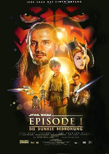 Star Wars - Krieg der Sterne Episode 1 (1999) | original Filmplakat, Poster [Din A1, 59 x 84 cm] (Original Poster Star Wars)