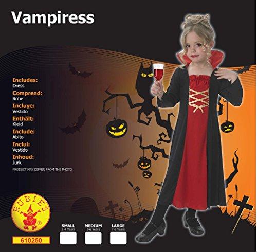 Imagen de rubie 's oficial disfraz vampiresa niñas pequeñas alternativa