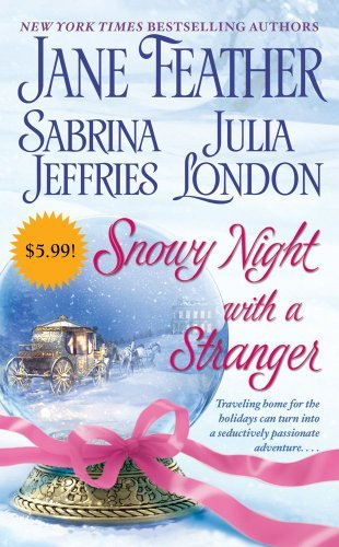 Snowy Night with a Stranger by Jane Feather (2010-10-26)