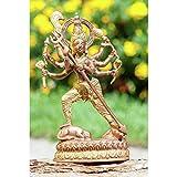 Kali 19,5 cm Kupfer/Messing Statue - Esoterik Zubehör günstig kaufen