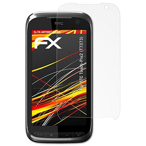 atFolix Schutzfolie kompatibel mit HTC Touch-Pro2 (T7373) Displayschutzfolie, HD-Entspiegelung FX Folie (3X) Htc Touch Pro Smartphone
