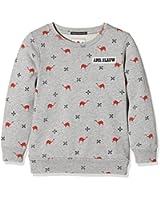 Scotch Shrunk Jungen Sweatshirt Allover Printed Sweat with Bages