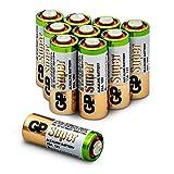 Batterien 23A (A23/MN21/V23GA/MS21) 12V Batterie, Alkaline High-Voltage, Spannung 12 Volt, 10 Stück (Batterien einzeln entnehmbar) im Multipack (GP Batteries Markenprodukt)