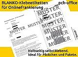 DHL-Onlinefrankierung: 100 Stück Paketlabel / Paketaufkleber / Versandlabel / Paketetiketten