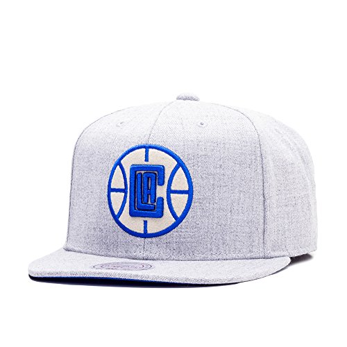 Preisvergleich Produktbild Mitchell & Ness Los Angeles Clippers Heather Snapback Cap grey heather/royal