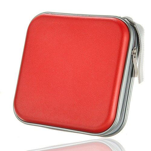 hard-cd-dvd-storage-holder-case-for-40-discs-durable-travel-organiser-red