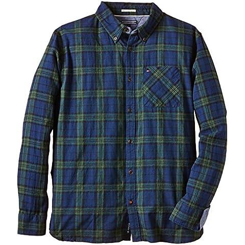 Tommy Hilfiger Abe Shirt L/s - Camisa Niños