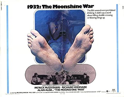 Moonshine War Affiche Movie Poster (11 x 14 Inches - 28cm x 36cm) (1970)