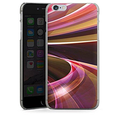 Apple iPhone X Silikon Hülle Case Schutzhülle Wirbel Strudel Muster Hard Case anthrazit-klar
