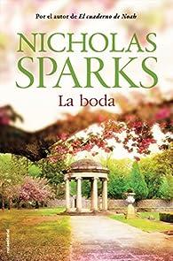 La boda par Nicholas Sparks