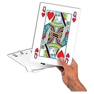 tobar-Tarjetas de Juegos Gigantes, Color Blancas, 08969