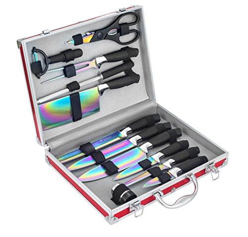 Pradel Excellence I7202TI - Juego de 12 cuchillos,...