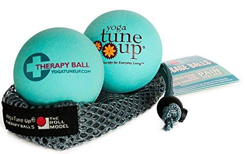 The Original Yoga Tune Up Therapy Balls By Jill Miller (Aqua Blue) by Jill Miller