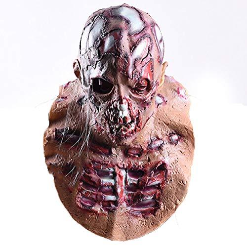 CHNA MA Halloween Cosplay Mittelalter Spukhaus Flucht Kreative Terror Maske Resident Evil Vampire Zombie Kopfbedeckung