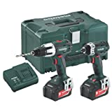 Metabo COMBO SET 2.1.3 Metabo COMBO SET 2.1.3 18v Combi Drill and Impact Driver 2 x 4.0Ah in Metaloc 685032000 by Metabo
