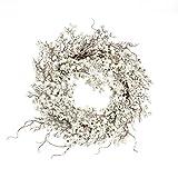 Weihnachtsdeko Dekokranz Weiße Beeren 58 cm Ø