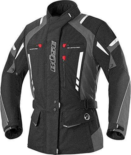 Büse Torino Pro Giacca da Moto da Donna-Nero/Grigio chiaro nero/antracite 34