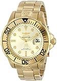 Invicta Men's 47mm Gold-Tone Steel Bracelet & Case Automatic Analog Watch 3051