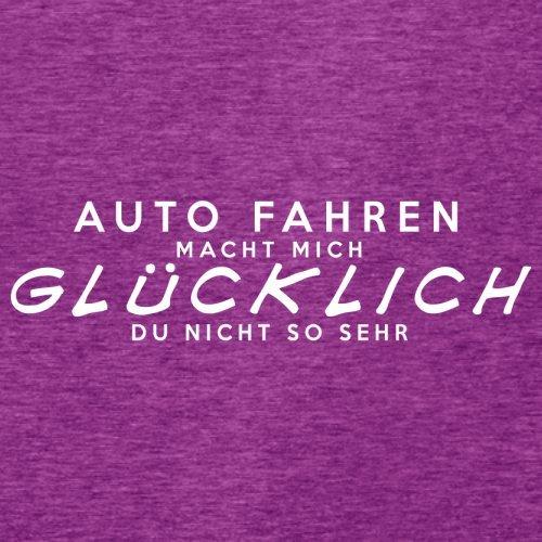 Auto fahren macht mich glücklich - Damen T-Shirt - 14 Farben Beere