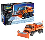 Revell- Maquette Unimog U1300L salage-Chasse Neige, 07438