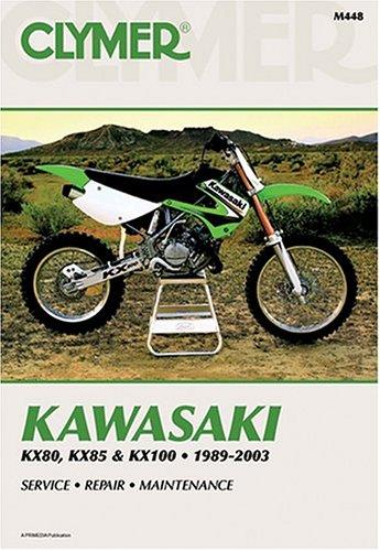 Kawasaki KX80 91-00, KX85 01-03, KX100 89-03 (CLYMER MOTORCYCLE REPAIR)