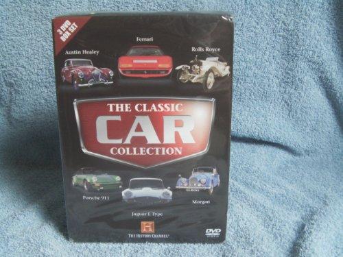 top-marques-history-channel-5-dvd-box-set-vw-beetle-porsche-911-farrari-jaguar-e-type-rolls-royce