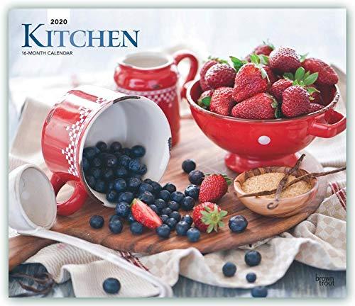 Fcps Calendar 2020 18.Kitchen Kuchenkalender 2020 18 Monatskalender Original Browntrout Kalender Deluxe Mehrsprachig Kalender
