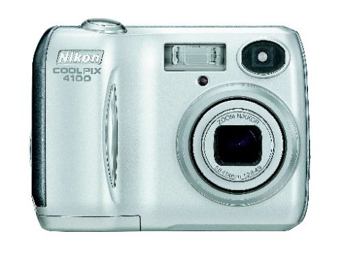 Nikon Coolpix 4100 Digitalkamera (4 Megapixel) Nikon Digital-tv