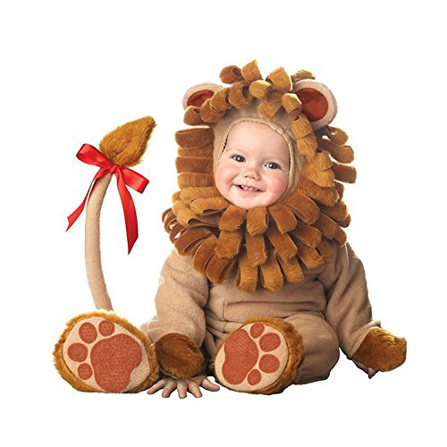 Syfinee Christmas Halloween Infant Baby Jumpsuit Animal Costume Dressing Clothes for Baby Girl Boy
