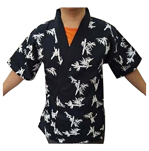 (Restaurant Uniform - Japanische Sushi Koch Mantel Uniformen für Männer und Frauen - A6)