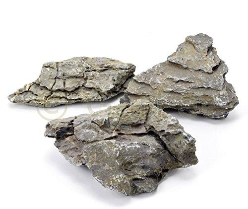 Aquarium Terrarium Deko Canyon Rock 15 kg Stein Felsen Gestein Nano Aquascaping Amano