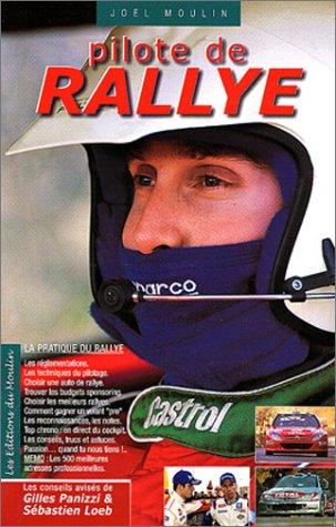 Pilote de rallye par Joël Moulin