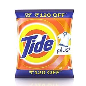 Tide Plus Detergent Powder - 6 kg Pack