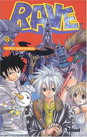 Rave Vol.8 par Hiro Mashima