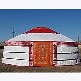 PENG Tente mongole de yourte mongole de Tente extérieure de Tente Nomade de Tente Touristique de touristes adaptée aux Besoins du Client