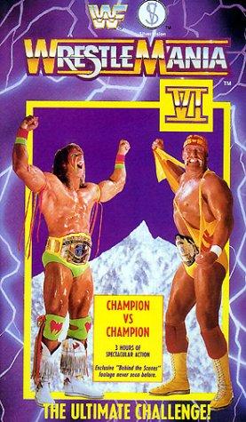 Preisvergleich Produktbild WWF - Wrestlemania 6 [UK-Import] [VHS]