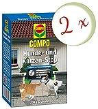 Oleanderhof® Sparset: 2 x COMPO Hunde- und Katzen-Stop, 200 g + gratis Oleanderhof Flyer