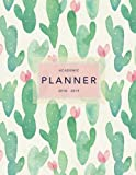 Best Academic Planners - Academic Planner 2018-19: Cactus Design | Weekly + Review