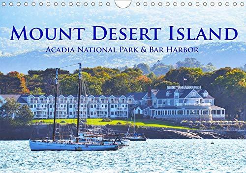 Mount Desert Island Acadia National Park und Bar Harbor (Wandkalender 2020 DIN A4 quer): Tauchen Sie ein in die faszinierende Welt des Acadia National ... 14 Seiten ) (CALVENDO Orte) -